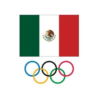 Symbol of the Comité Olímpico de México