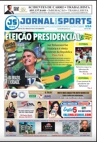 Cover of the periodical Jornal dos Sports