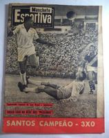 Cover of the magazine Manchete Esportiva