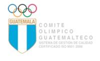 Symbol of the Comité Olímpico de Guatemala