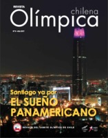 Cover of Revista Olímpica Chilena, the official periodical of the Comité Olímpico de Chile