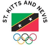 Symbol of the Saint Kitts and Nevis Olympic Committee