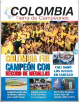 Cover of Revista Colombia Tierra de Campeones