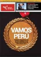 Cover of the magazine Instituto Peruano del Deporte
