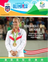 Cover of La Antorcha Olímpica, an official publication of the Comité Olímpico de Puerto Rico