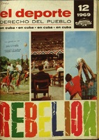 Cover of the magazine El Deporte