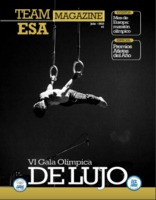 Cover of Team ESA Magazine, the official periodical of the Comité Olímpico de El Salvador
