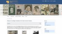 Screenshot of Digital Collections of the Ibero-American Institute's website