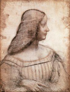 Isabella d'Este by Leonardo