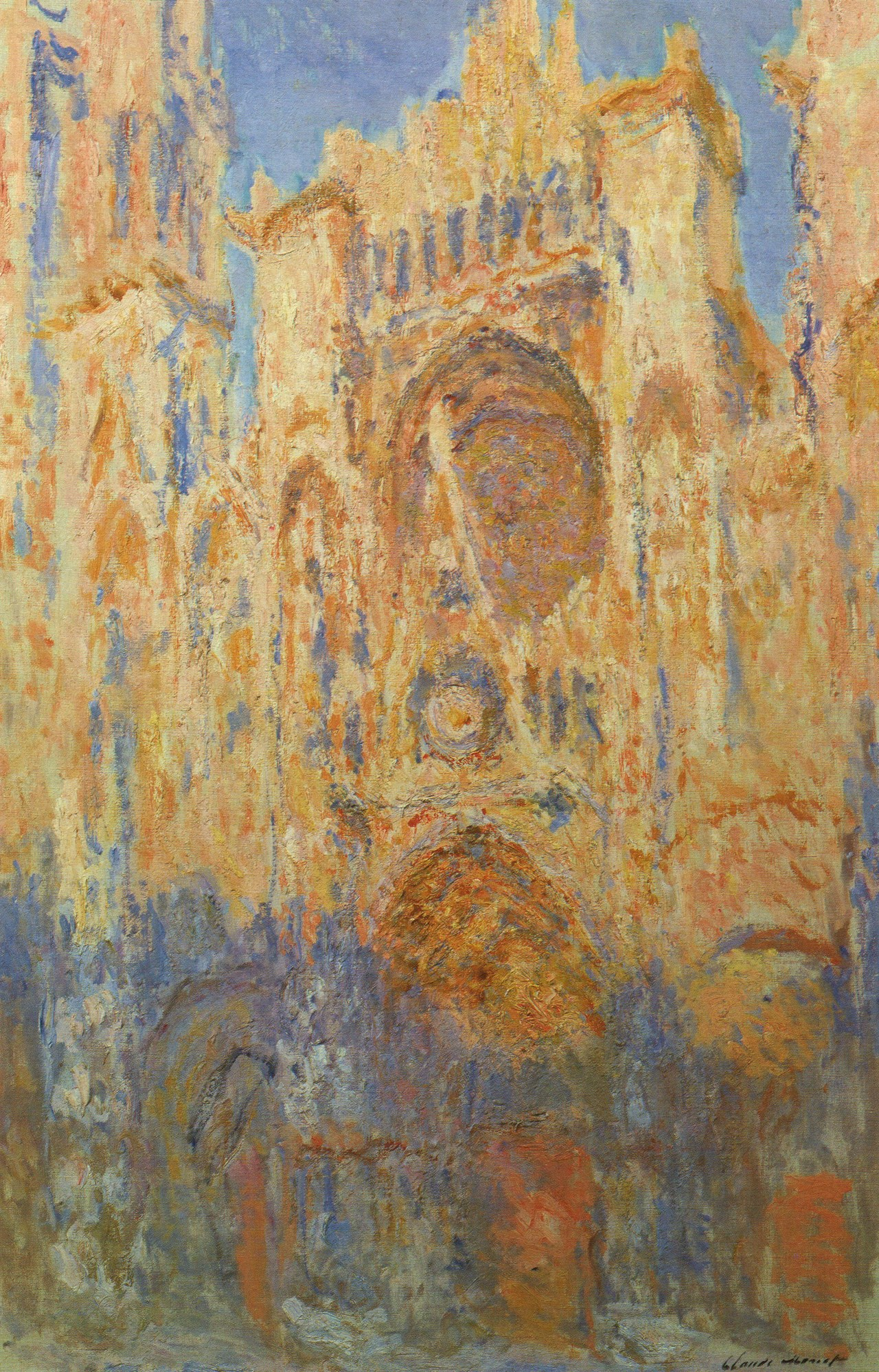 The Cathédrales Revolution – Claude Monet: The Water-Lilies and other  writings on art